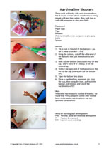 Marshmallow Shooter activity factsheet - sample image