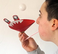 Flying ping pong monster activity