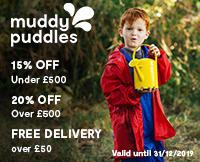 Muddy Puddles discount offer for OOSA members